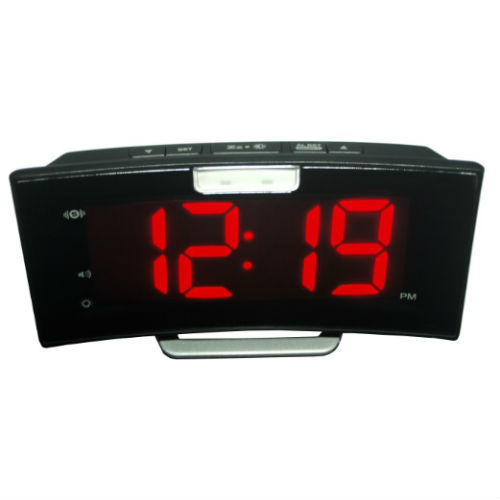 geemarc wake n shake star  Geemarc Wake 'n' Shake Extra-Loud Curved Alarm Clock with Vibrating ...